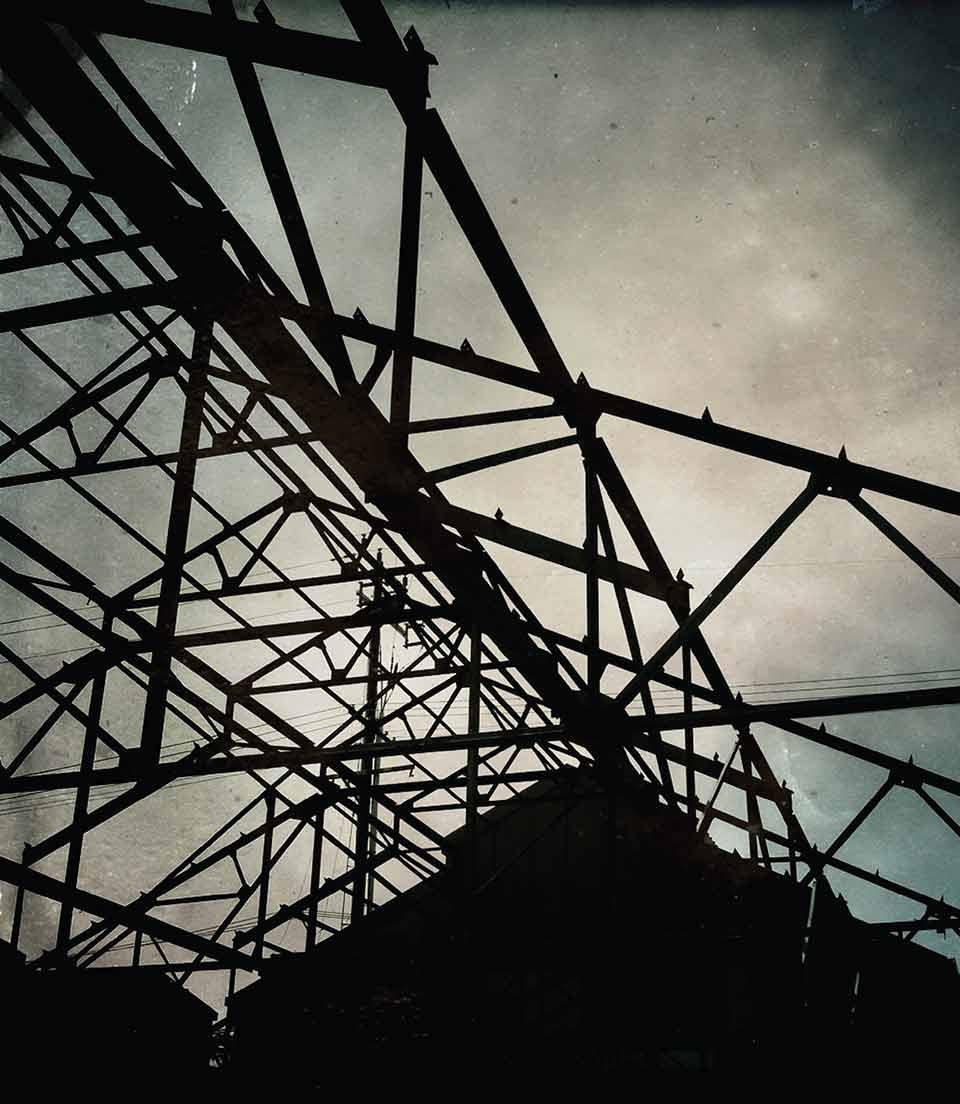 Factory scaffolding