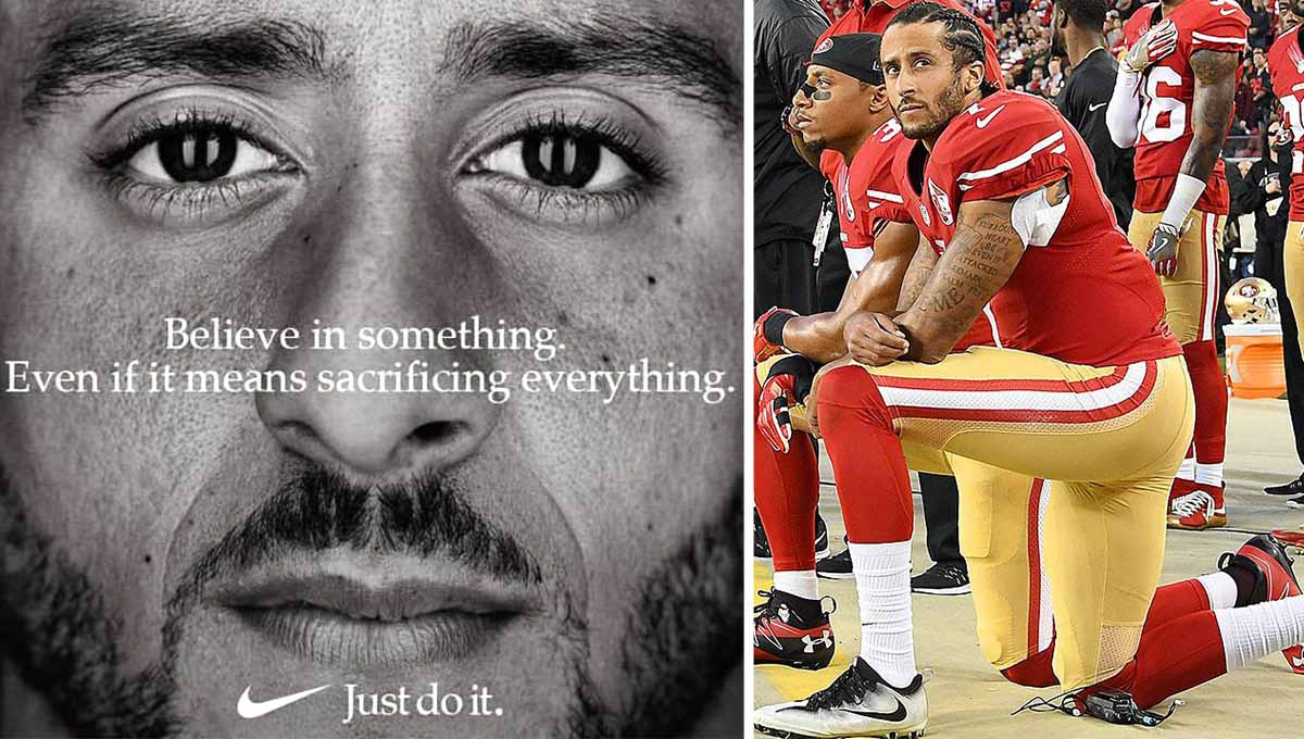 Kaepernick, Nike ad campaign